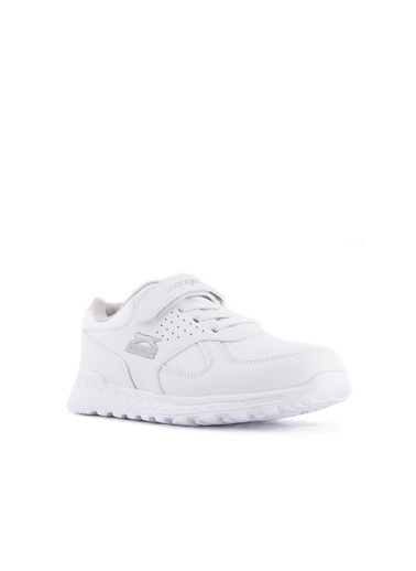 Slazenger Unisex Çocuk FRESH Spor Ayakkabı SA10LF075-000 Beyaz